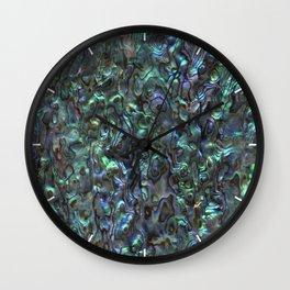 Abalone Shell | Paua Shell | Sea Shells | Patterns in Nature | Natural | Wall Clock