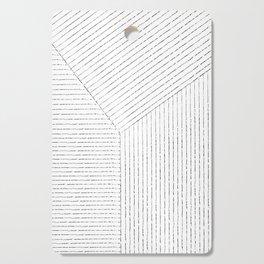 Lines Art Cutting Board