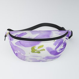 10  |  190412 Flower Abstract Watercolour Painting Fanny Pack