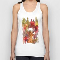 team fortress Tank Tops featuring Fortress by Geek World