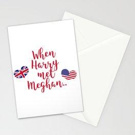 When Harry met Meghan | Fun Royal Wedding Stationery Cards