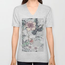 TROPICAL BEAUTY Unisex V-Neck
