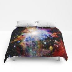 GaLaXY : Orion Nebula Dark & Colorful Comforters