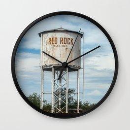 Red Rock Arizona Water Tower Wall Clock