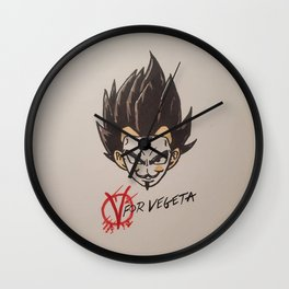 The 5th of Vegeta Wall Clock