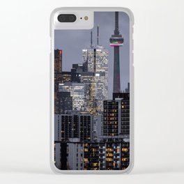 City night ville Clear iPhone Case
