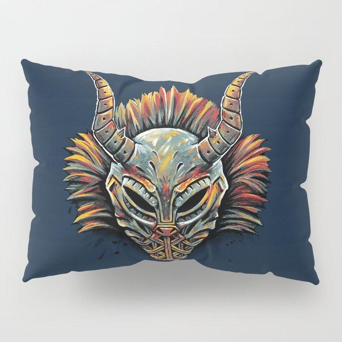 Killmonger Tribal Mask Pillow Sham