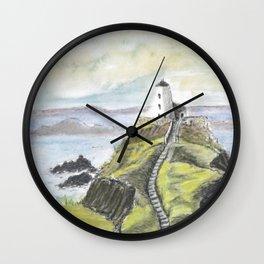 Ynys Llanddwyn, Anglesey Wall Clock