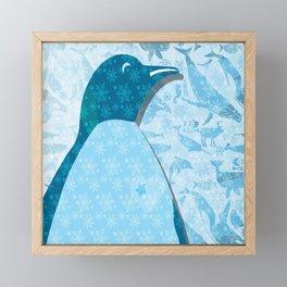 Penguin: Love Framed Mini Art Print