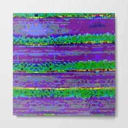 IBB 001 Toxic Stripes Metal Print