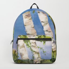 Four Birch on the Lake Backpack