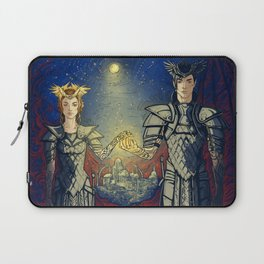 night lord & lady Laptop Sleeve