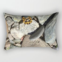 Port costa rocks Rectangular Pillow
