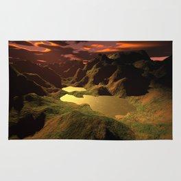 The Golden Lake Rug