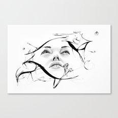 Line 7 Canvas Print