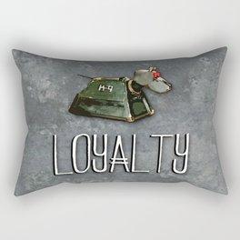 Doctor Who: K9: Loyalty Rectangular Pillow