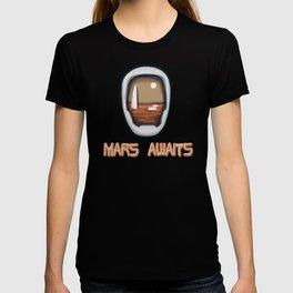 Mars Awaits T-shirt