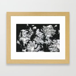 Channeling Mages Framed Art Print