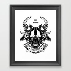 Diablo III. Witch Doctor Framed Art Print