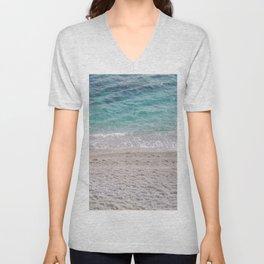 Sand Meets Water Unisex V-Neck