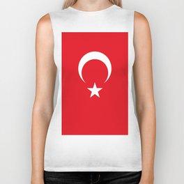 Flag of Turkey Biker Tank