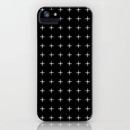 Crosses (Reversed) iPhone Case