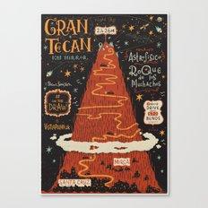 #onthedraw in La Palma - Gran TeCan Canvas Print