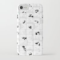 matrix iPhone & iPod Cases featuring matrix by sharon