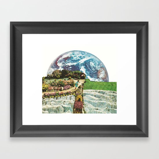 EDEN IN TRANSITION (2) Framed Art Print