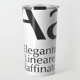 Classificazione: Lineari Umanistici Travel Mug