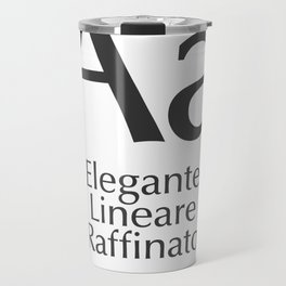 Classificazione: Lineari Umanistici Travel Mug