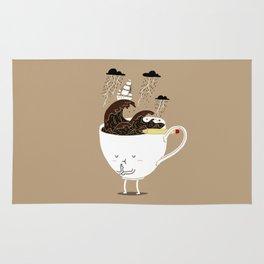 Brainstorming Coffee Rug