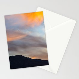 Mount San Jacinto Sunset Clouds Stationery Cards