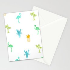 Tropical Delight (orange) Stationery Cards