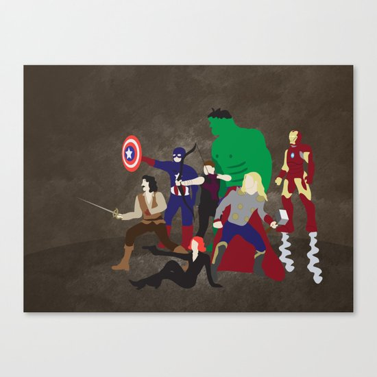 Prepare to Be Avenged Canvas Print