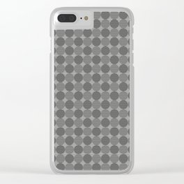 Dots #4 Clear iPhone Case