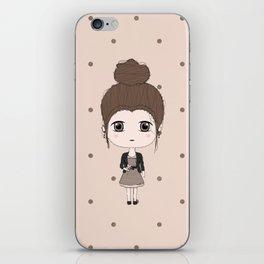 Virgo Girl iPhone Skin