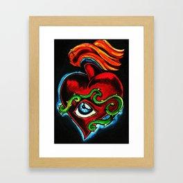 sacred art  Framed Art Print
