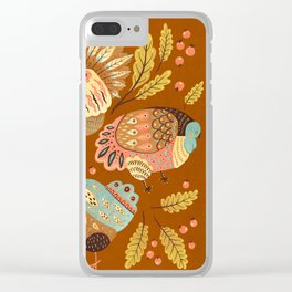 Thanksgiving Dinner II Clear iPhone Case