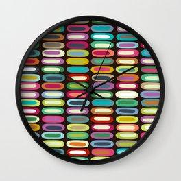 New York lozenge chocolate Wall Clock
