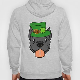 Leprechaun Pitbull - St. Patricks Day Hoody