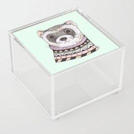 Hipster Ferret Acrylic Box