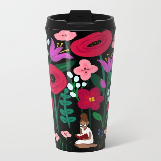 Little Reader Metal Travel Mug
