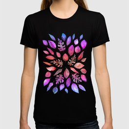 All the Colors of Nature - Gradient on Dark Background T-shirt