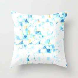 COLD 90'S TONES PATTERN Throw Pillow