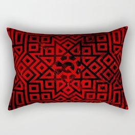 Chaos Communism - Detailed Design Rectangular Pillow