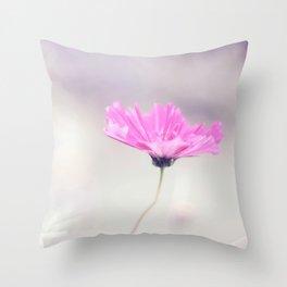 Cotton candy cosmo Throw Pillow