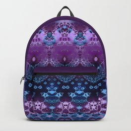 Hippy Blue and Lavender Backpack