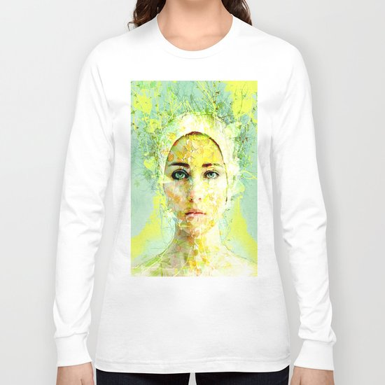 floral woman Long Sleeve T-shirt