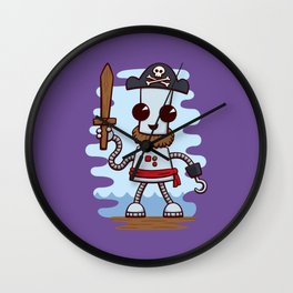 Pirate Ned Wall Clock